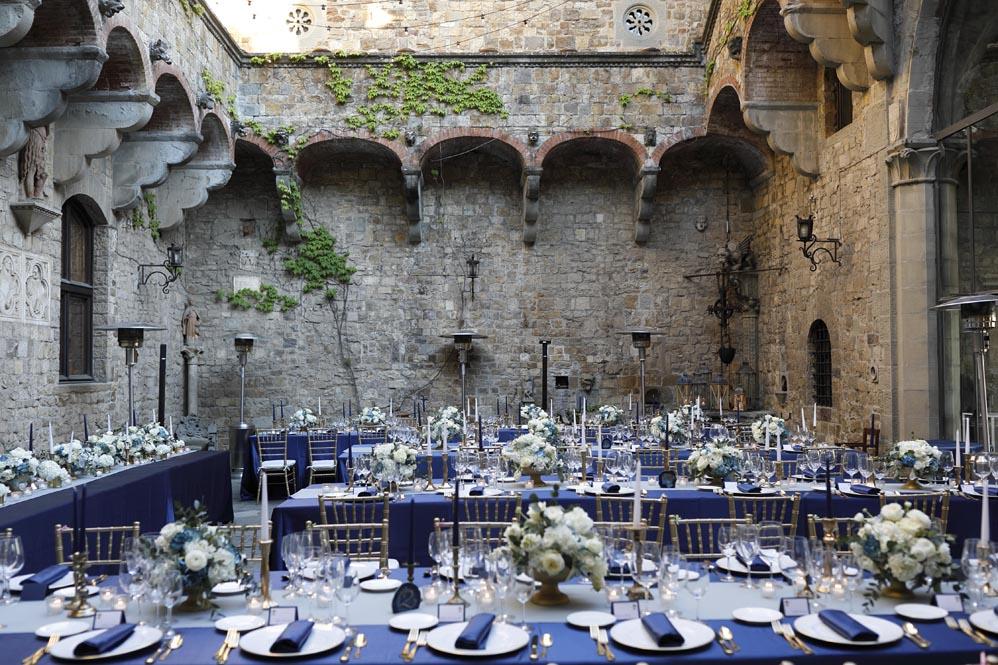 Blue reception tuscanbites