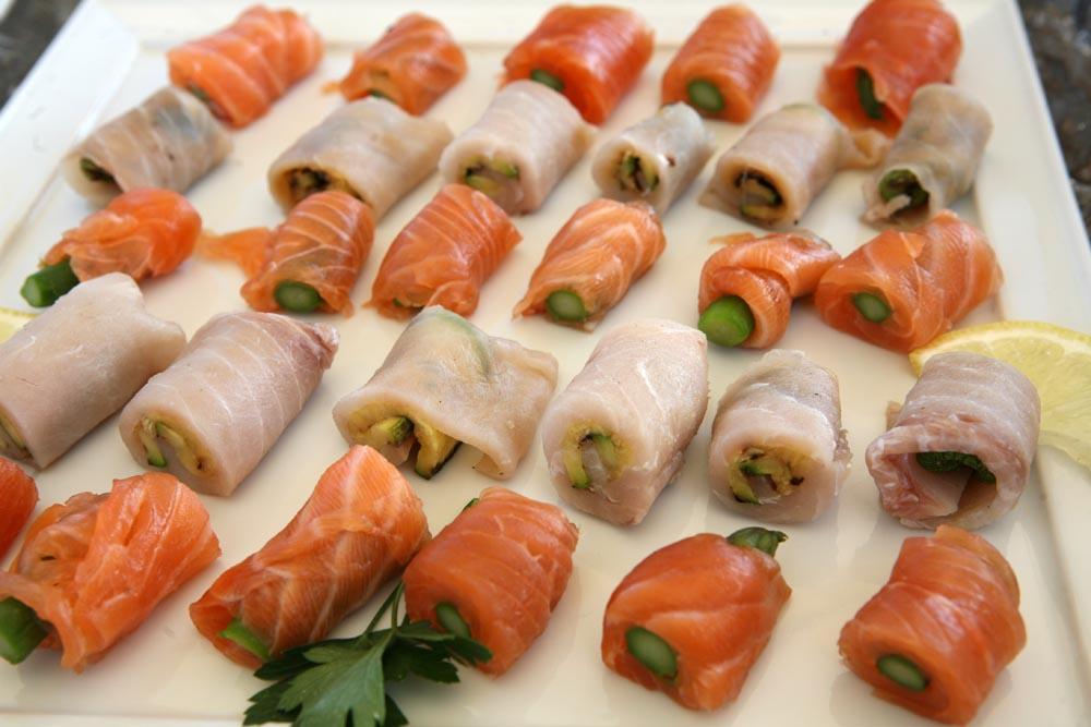 Japanese sushi tuscanbites catering