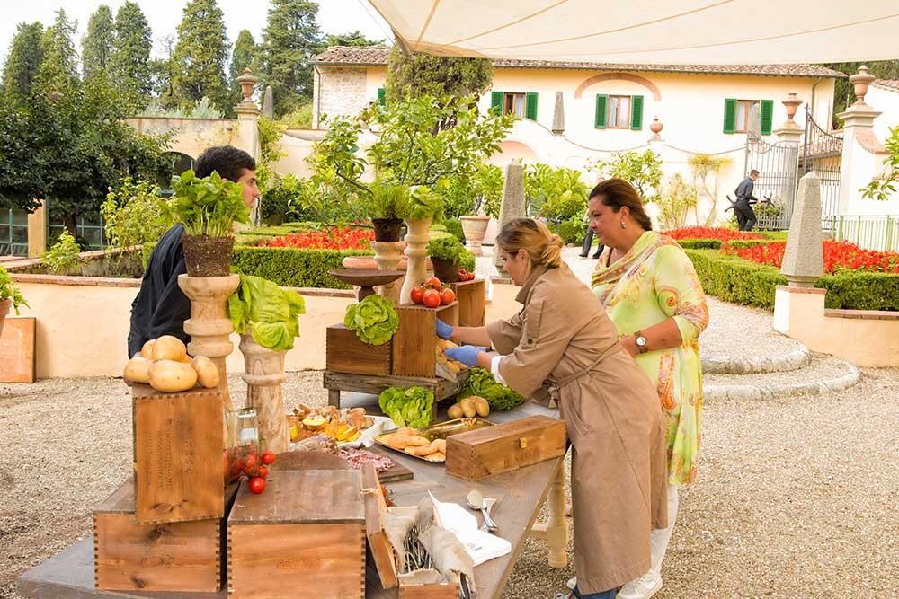 Monica Balli owner tuscanbites catering