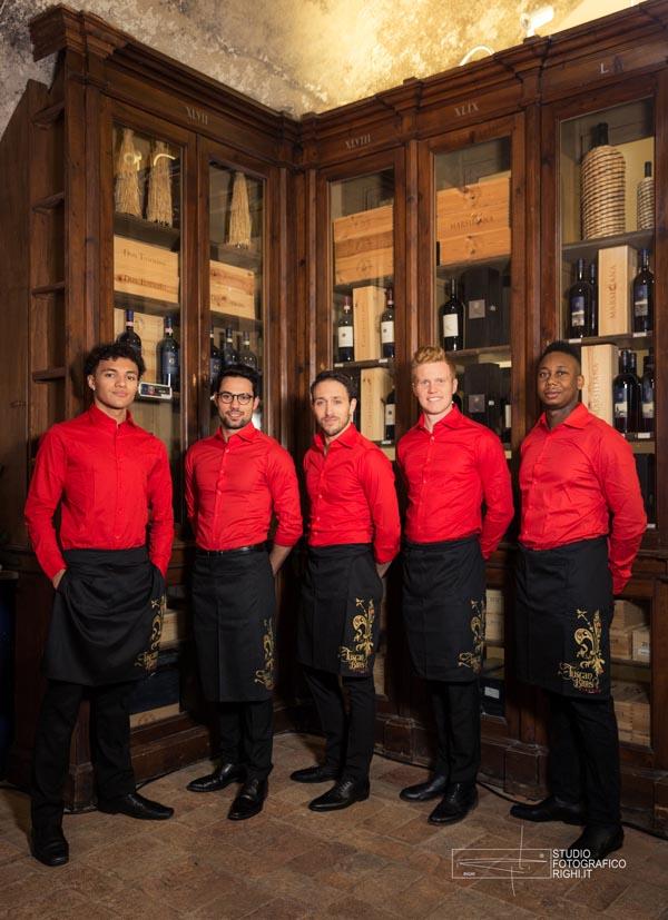 Tuscanbites bartenders red attire