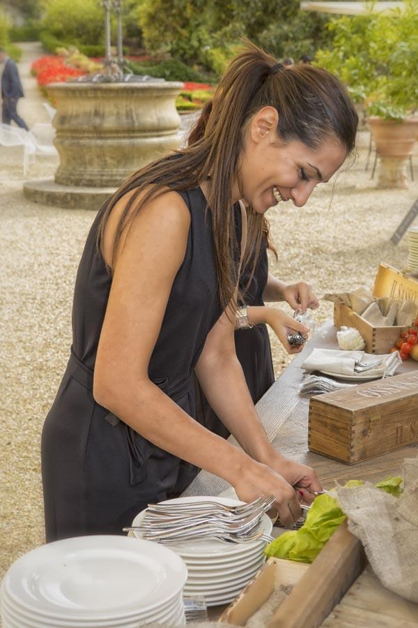 Tuscanbites catering team at work