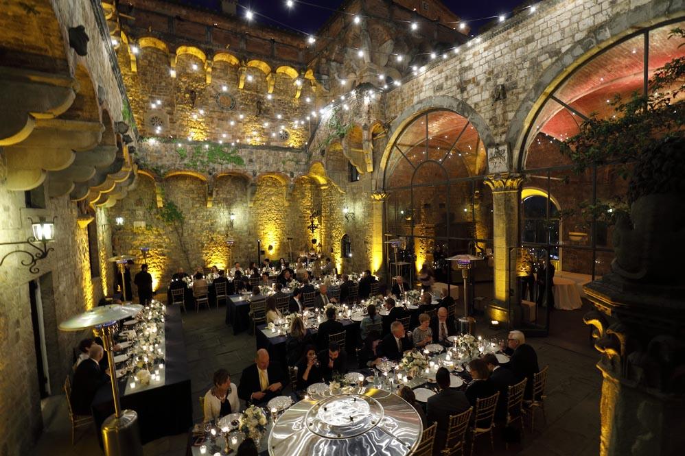Wedding reception castle florence Tuscanbites