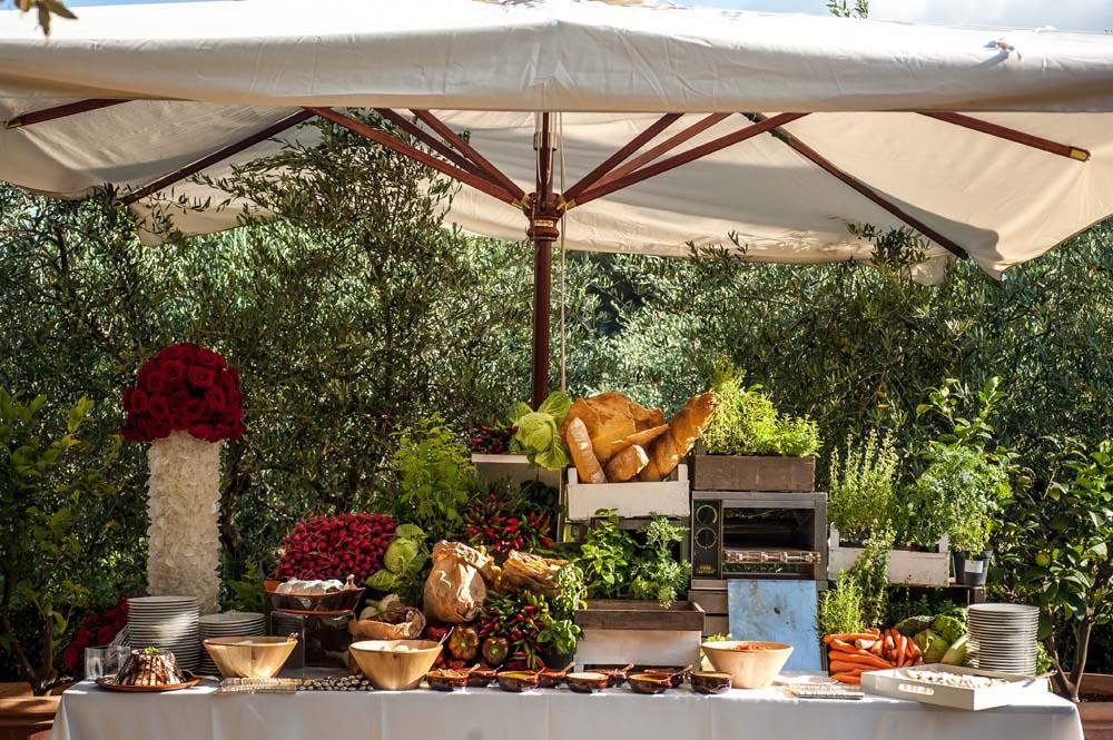Wedding tuscan style