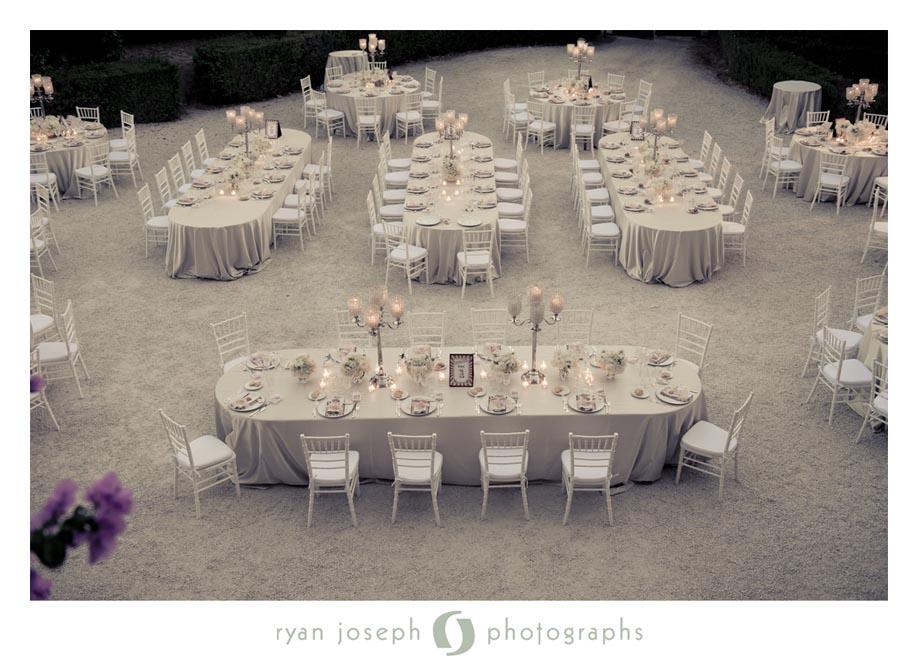 elegant total white setting tuscanbites
