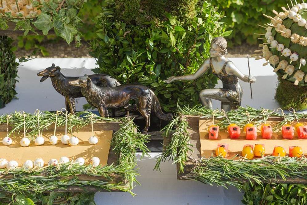 reception Buffet Liberty style