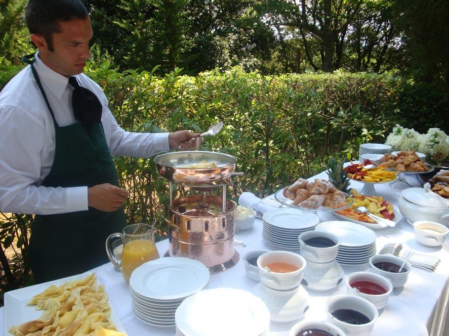 wedding buffet reception tuscany