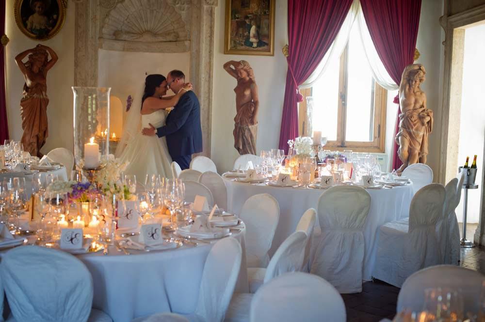 wedding reception ancient luxurius villa tuscany