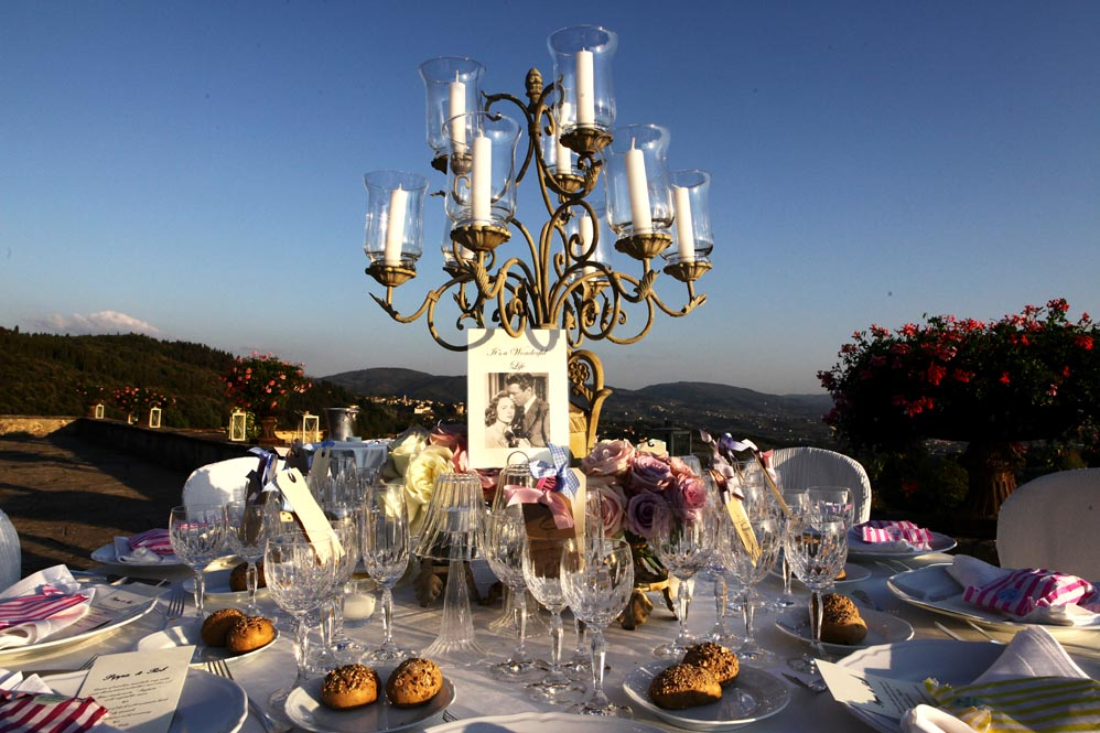 wedding reception arrangement tuscanbites catering