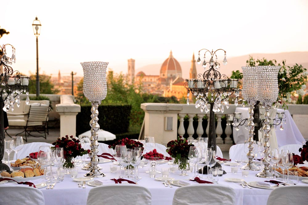 wedding settings florence view tuscanbites catering
