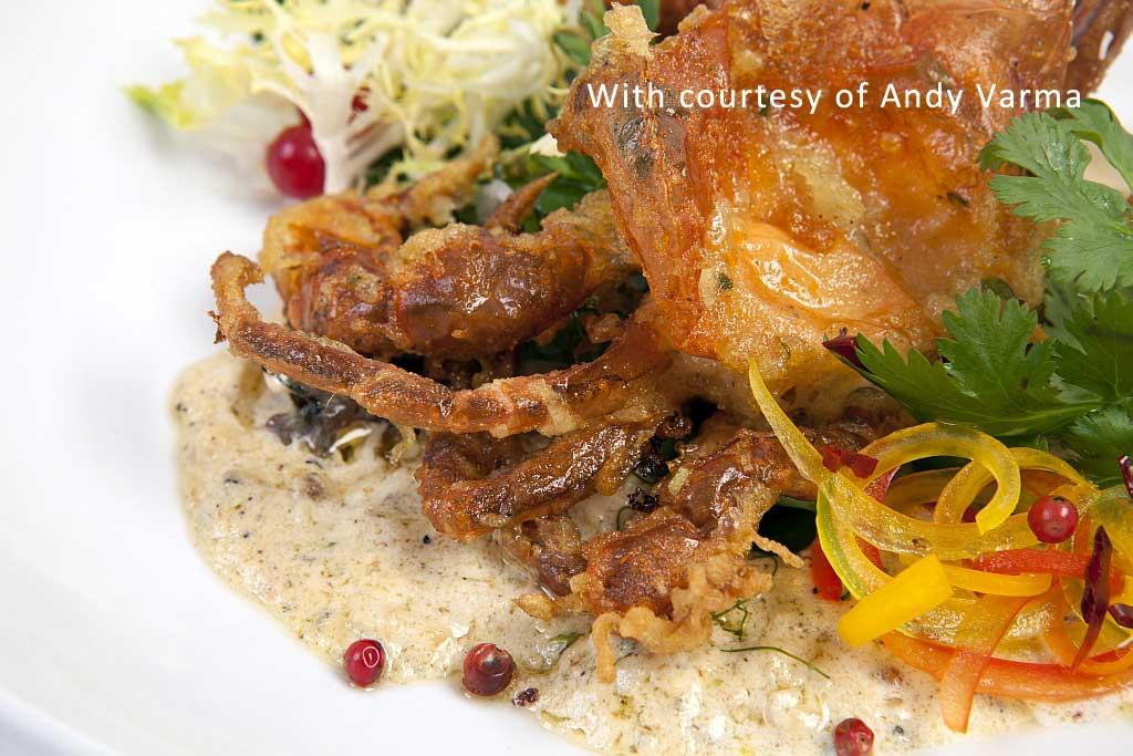 Chakra Crab tuscanbites catering