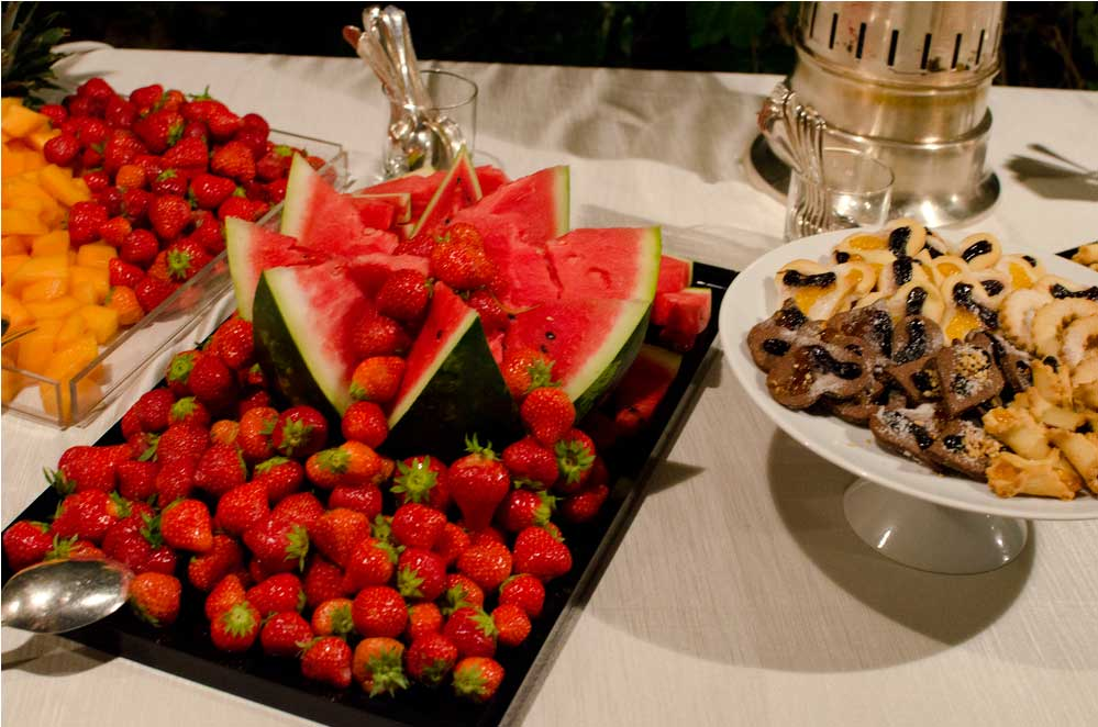 Fruit Coffe break TuscanBites catering