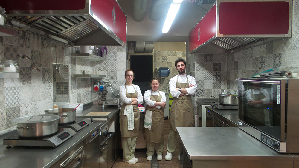 Tuscanbites catering Bottega Chefs