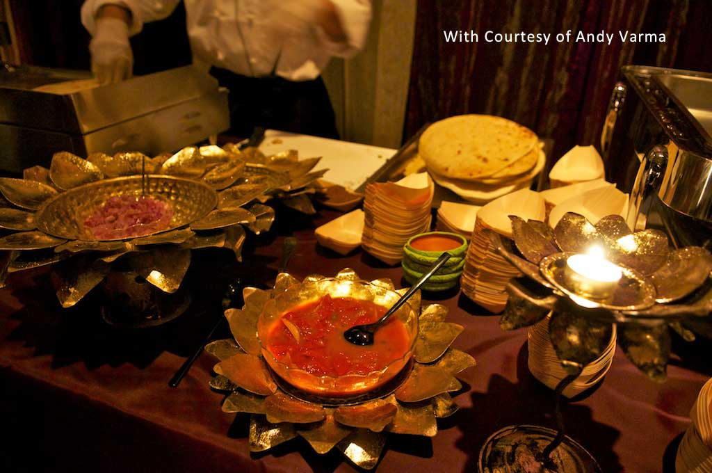 buffet catering indian style