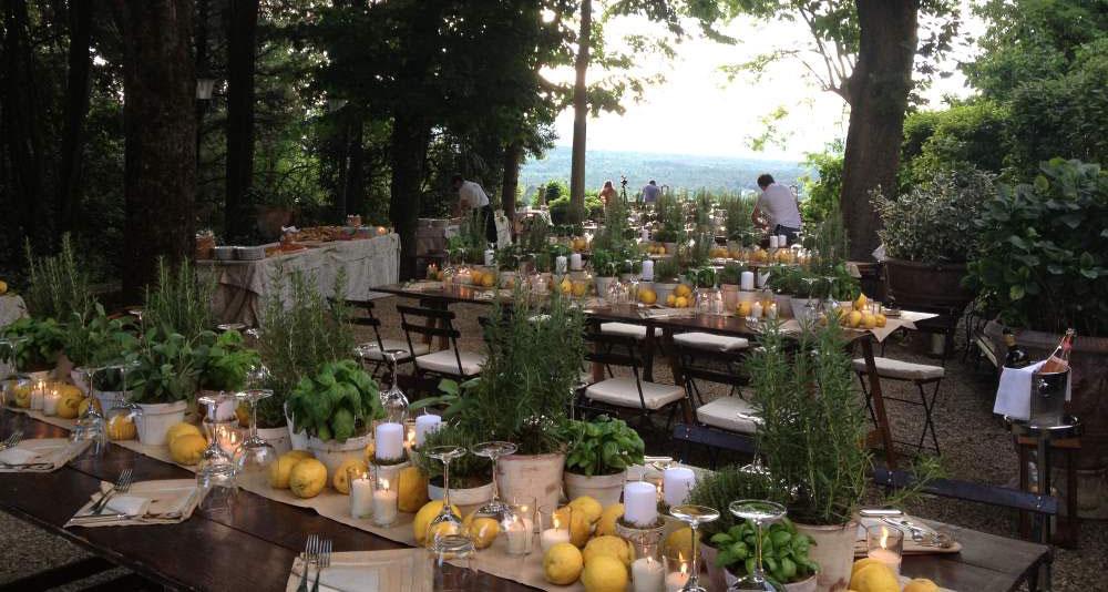family sttyle table settings tuscanbites