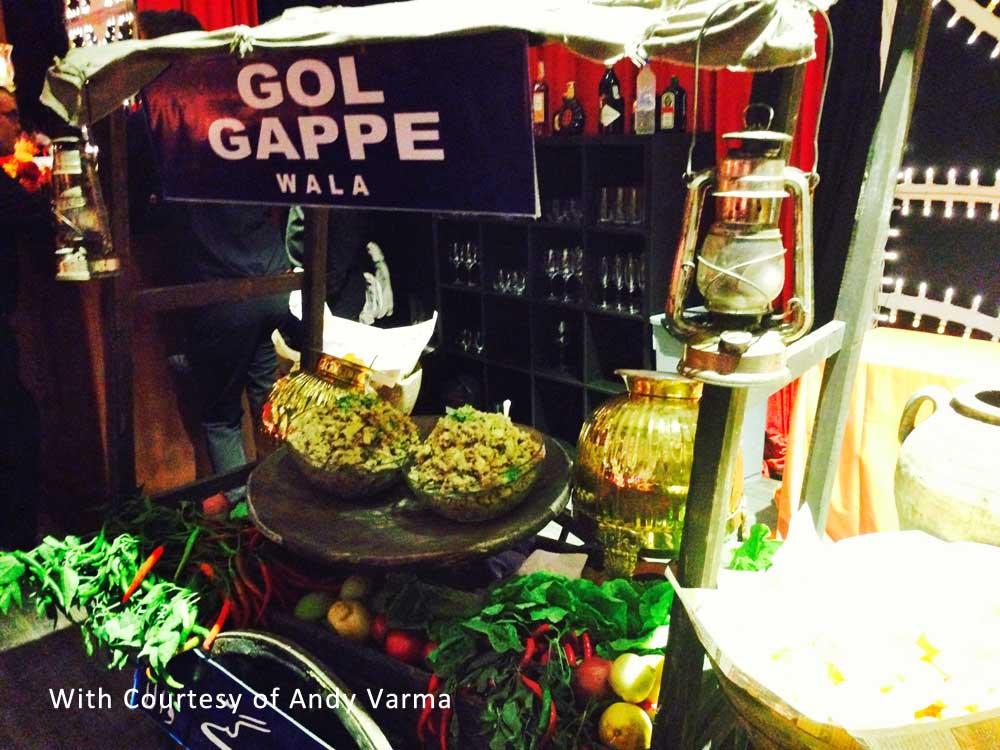 Indian gol gappe cart tuscanbites catering
