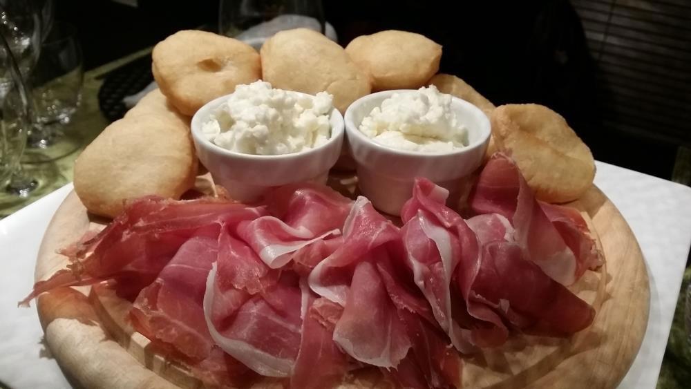 tuscanbites coccoli prosciutto and stracchino fresh cheese